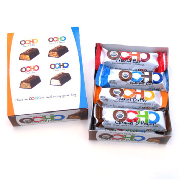 OCHO Organic Candy Bars Collection - Now Contains ALL 5 Flavors!