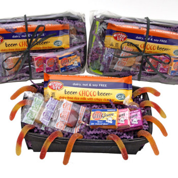 Allergy-Friendly Halloween Candy Coffin