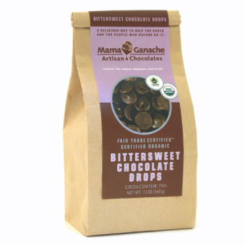 Bittersweet Chocolate Couverture Drops