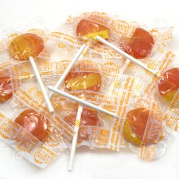 Mango Tango Organic Lollipops