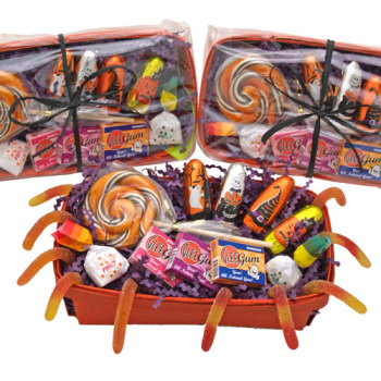 Natural Halloween Candy Coffin