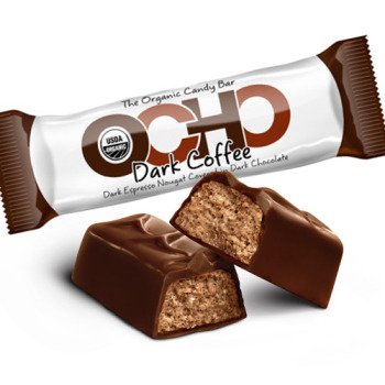OCHO Organic Candy Bar - Dark Coffee