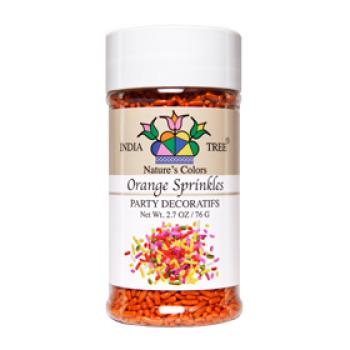 Orange Natural Sprinkles