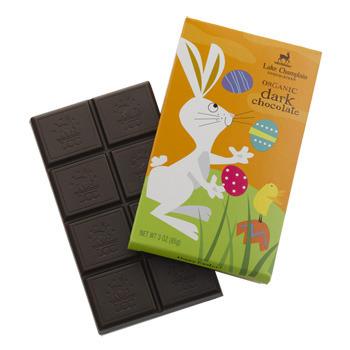 Organic Dark Chocolate Bunny Bar - DISCONTINUED