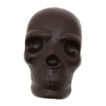 Dark Chocolate Scary Skull