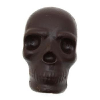 Dark Chocolate Scary Skull