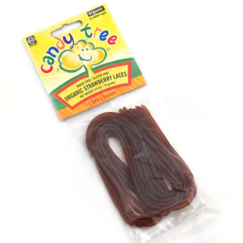 Organic Strawberry Licorice Laces
