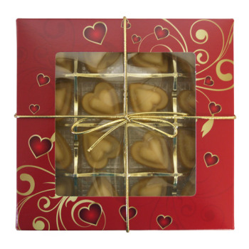 Organic Maple Candy Box of Hearts