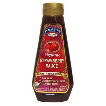 Organic Strawberry Sauce