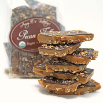 Vegan Pecan Toffee