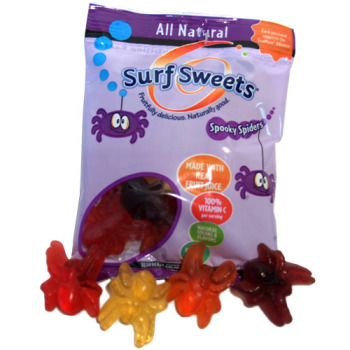 Surf Sweets Gummy Spooky Spiders