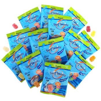 Surf Sweets Organic Fruity Bears - Mini Bags