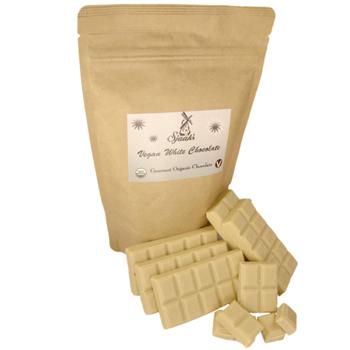 Vegan Organic White Chocolate Bag