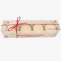 Vegan White Chocolate Hazelnut Snowballs
