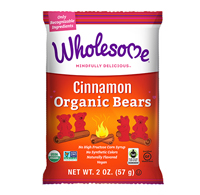 Cinnamon Organic Bears - 2oz Bag