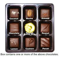 Dark Chocolate Nuts & Chews Gift Box (Vegan)