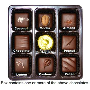 Vegan Dark Chocolate Nuts & Chews Gift Box