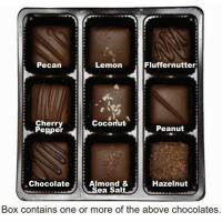 """""""Milk"""" Chocolate Nuts & Chews Gift Box (Vegan)"""