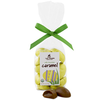 Milk Chocolate Caramel Eggs - Organic & Fair Trade