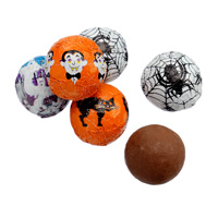 Milk Chocolate Spooky Balls