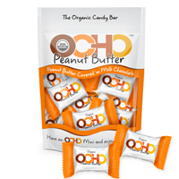 Mini OCHO Organic Candy Bars - Peanut Butter
