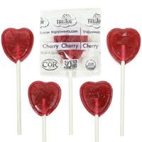 Organic Heart Lollipops