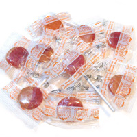 Perfectly Peach Organic Lollipops