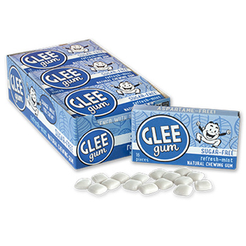 Sugar-Free Glee Gum - Refresh-Mint