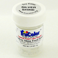 Silver Shine Natural Food Paint