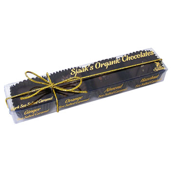 Vegan Dark Chocolate Salted Caramels