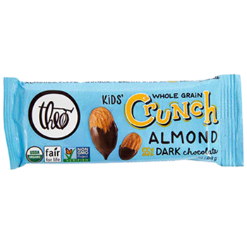 Theo Kids' Crunch - Almond 55% Dark Chocolate