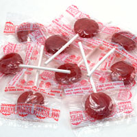 Very Very Cherry Organic Lollipops