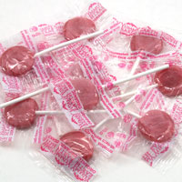 Wet-face Watermelon Organic Lollipops