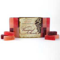 Wine Jelly Candy (Pates de Fruits)