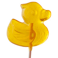Yellow Duckie Lollipop